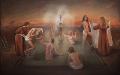 Fountain of Youth, 2012. Oil on canvas, 120x88 cm