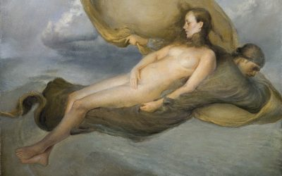 Soul Resting on Shadow , 2005. Oil on canvas,  ca. 70 x 60 cm.