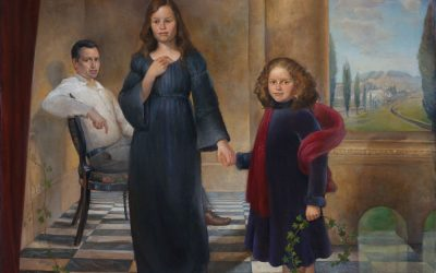 The Jacobsen Family, 2005. Oil on canvas 180 x 200 cm.