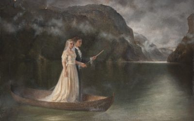 Wedding Journey, 2010. Oil on canvas, 80 x 115 cm.