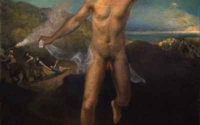 Escape I, 2005. Oil on canvas, 100 x 75 cm.