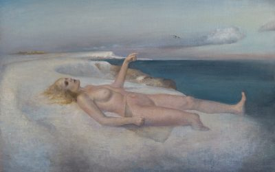Ice Venus, 2005. Oil on canvas, 65 x 95 cm.