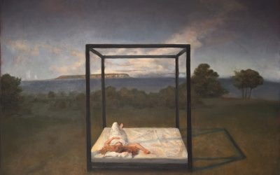 Just a Dream, 2012. Oil on canvas, 100 x 75 cm.