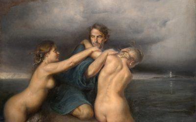 Licosa, 2008. Oil on canvas, 145 x 115 cm.