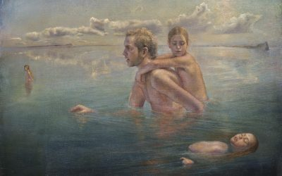 Limbo, 2005. Oil on canvas, 150 x 116 cm.