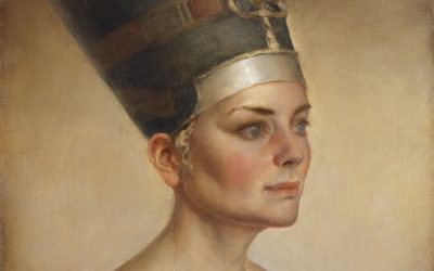 Nefertiti, 2010. Oil on canvas, 50 x 60 cm.