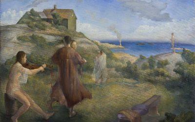 Summer, 2007. Oil  on canvas, 100 x 70 cm.