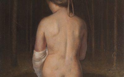 Venus Pudica II, 2010-2011. Oil on canvas, 96 x 80 cm.