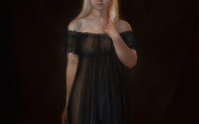 Albino, 2012, Oil on Canvas, 100 × 120 cm