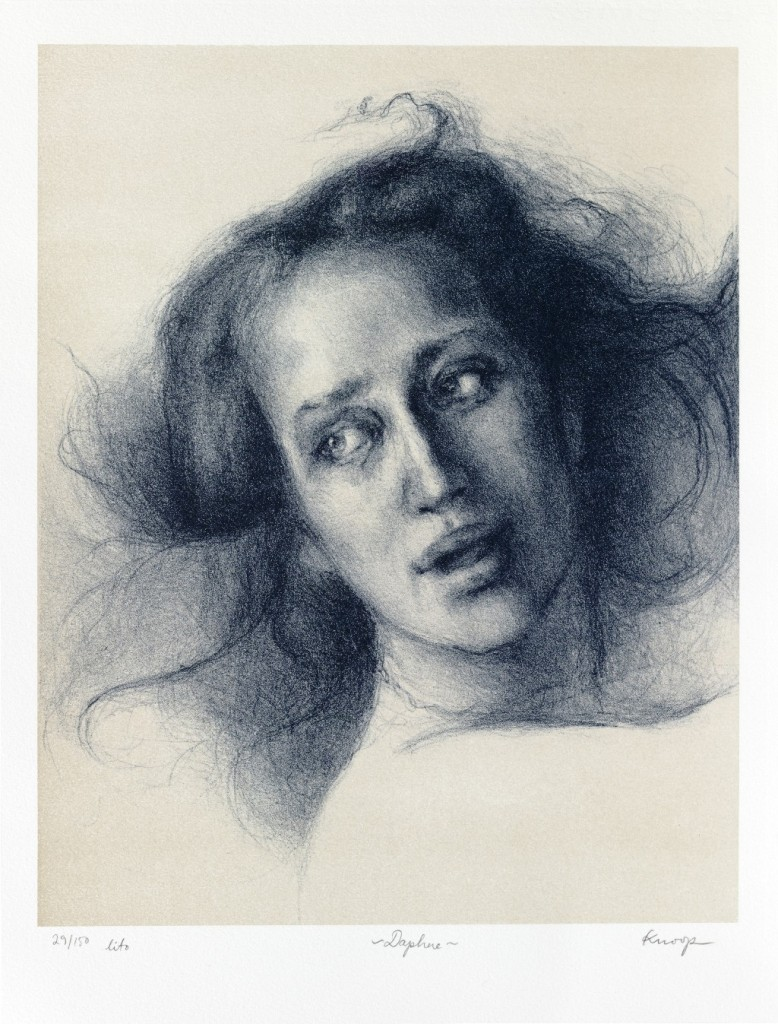 Daphne, lithograph on paper