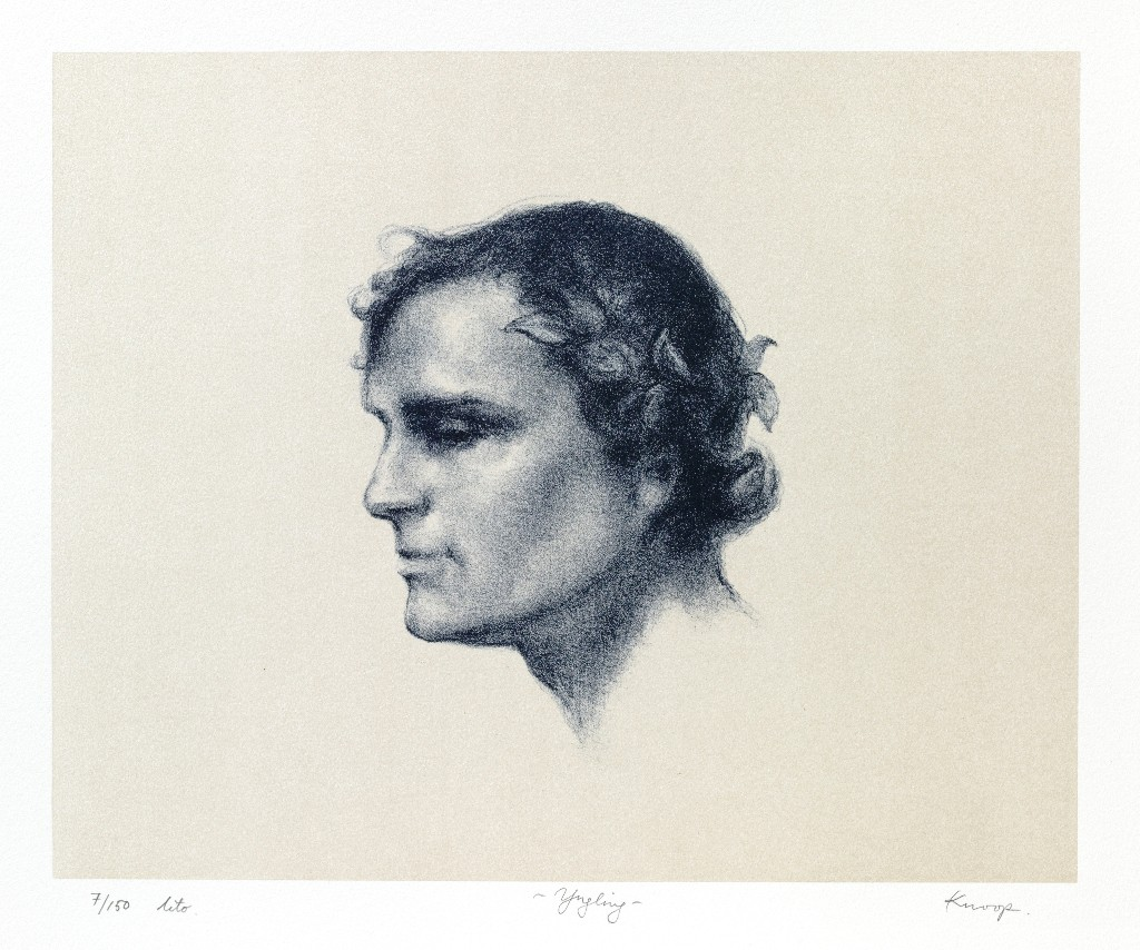 Youth, lithograph on paper