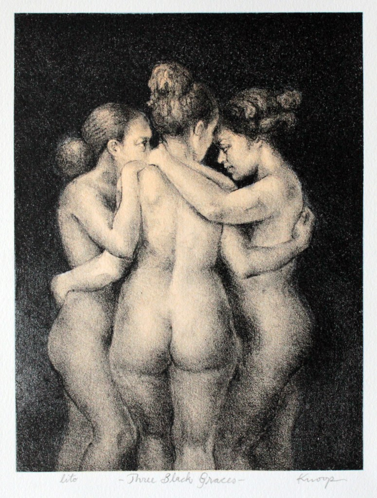 Three Black Graces