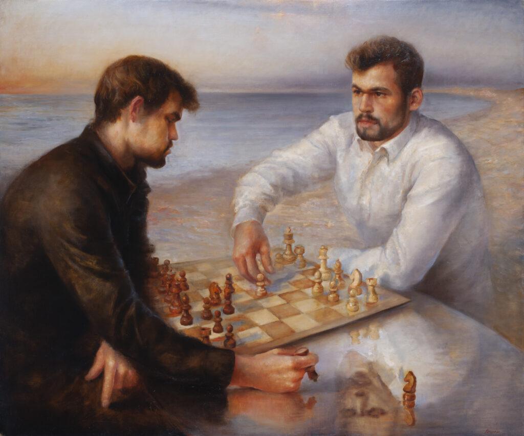 Remis-Portrait of Magnus Carlsen